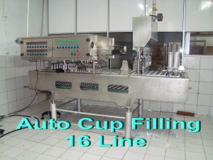 Auto Cup Filling 16 Line